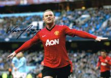 Wayne Rooney Autograph Photo Signed - Manchester United